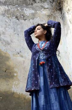 A Bagru jacket in Indigo - want one? get one!