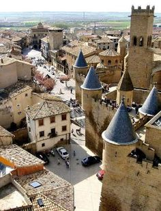 Olite, Navarra, Spain by nicole