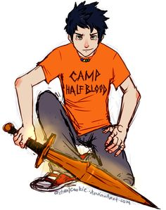 Now THAT is Percy Jackson, everyone. <3<<< this is the first pic I've seen where Reptide actually looks like I imagined it.