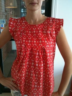 Built by Wendy tunic top