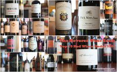 The Reverse Wine Snob: Top 10 Red Wines Under $20 - 2014 Edition