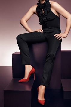Jimmy Choo Romy 100 user Reviews and sizing at onlybestshoes.com. Discover best Jimmy Choo Romy 100 prices online. Jimmy Choo Romy, Capri Pants, Red, Fashion, Capri Trousers, Moda, Fashion Styles, Fashion Illustrations