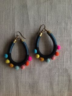 AVIVA earrings Color Study No. 28 by NestoftheBluebird on Etsy, $38.00