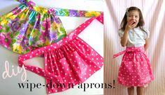 DIY Wipe-Down Apron Tutorial!