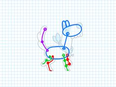 Dog walkcycle