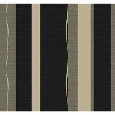 "Found it at Wayfair - Wallpapher Tempest 27' x 27"" Stripes Distressed Wallpaper"