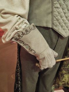 Gilderoy Lockhart glove costume detail Harry Potter and the Chamber of Secrets