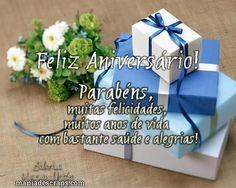 Feliz aniversário, meu amigo!
