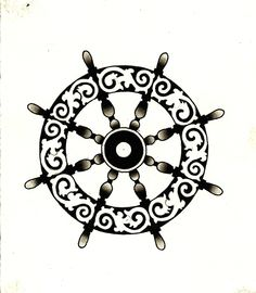 ships wheel tattoo - Google Search