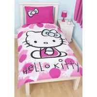 Hello Kitty 'Fawn' Single Duvet Set