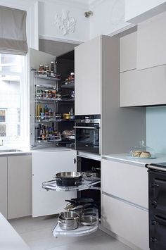 Planning and giving attention to the smaller details of your kitchen storages  and incorporating right designs for them can save one from a lot of clutter in future .   #kitchen #kitchendesign #kitchenstorage #storage #spacesaving #renovation #refurbishment #construction     #interiorstyling  #interiorblogger #homeimprovement #innovation #interiors #inspiration  #homedecor #homeinspiration #designinspirations #luxedecor #decor #home   #theworldofinteriors #designismyair #interioraesthete