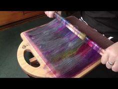 Using the Ashford Blending Board - YouTube