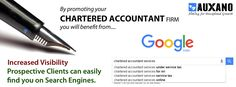 google-search-promotion-seo-for-chartered-acoountant-services