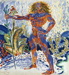 Frantisek Kupka, Prometheus, 1909-10.  Art Experience NYC  www.artexperiencenyc.com