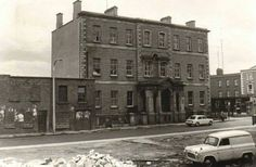 The old Coombe hospital.