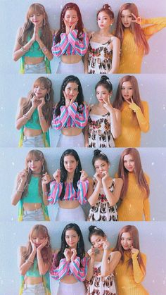 Check out Blackpink @ Iomoio Girls Generation, Blackpink Poster, Blackpink Members, Lisa Blackpink Wallpaper, Black Pink Kpop, Looks Black, Blackpink Photos, Blackpink Fashion, Jennie Blackpink