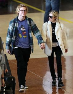 Emma Roberts & Evan Peters In Paris - http://oceanup.com/2014/02/26/emma-roberts-evan-peters-in-paris/