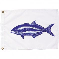 Nyl-Glo Bluefish Flag-12 in. X 18 in. http://www.pacificcoastflag.com/product-type/sports-recreation-leisure-boating-fishing-auto-racing/12-in-x-18-in-nyl-glo-bluefish-flag.html