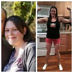 30 Days of HOPE, Day 17 - Meet Bethany who lost 82lbs and 60 INCHES!!
