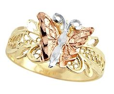 Butterfly Ring 14k Multi-Tone Gold Band, Size 5.5 Has :               (1)       Good Reviews From Customers. Check All Reviews, Details, Features, and How To Get it with Best Price/Discount Here:   http://short.shopingzon.com/ARPY4