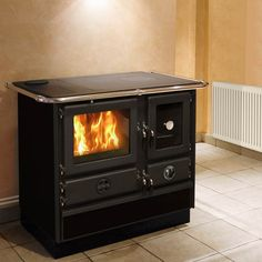 Wood Burning Cook Stove, Fire Pit Grill, Stone Cottages, Cooking Stove, Kitchen Equipment, Tiny Living, Tiny House, Small Spaces, Home Improvement