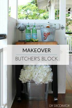 DIY: Butcher's Block Makeover