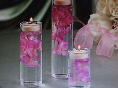 36 Glass Cylinder Tealight Candleholders vases wedding centerpieces glass candle