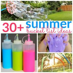 30+ Summer Bucket Li