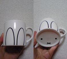 DIY: bunny mug ^^