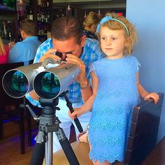 Checking out the view at @50_ocean during Easter Brunch!!! #delraybeach #50ocean #easter #MomBlogger #kids #beach