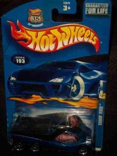 #2002-193 Cabin Fever Collectible Collector Car Mattel Hot Wheels by Hot Wheels. $0.01. A Perfect Addition To Any Hot Wheels Collection!. Great Investment For Any Hot Wheels Collector.. Fun For All Ages! Serious Collectors And Kids Alike!. Perfect Hot Wheels Diecast for every collector!. Diecast Metal Hot Wheels Car Perfect For That Hot Wheels Collector!. #2002-193 Cabin Fever Collectible Collector Car Mattel Hot Wheels