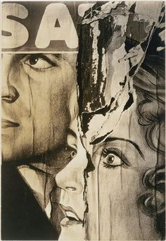 Walker Evans: Torn Movie Poster (1987.1100.59) | Heilbrunn Timeline of Art History | The Metropolitan Museum of Art