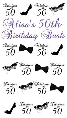 Best of January '13 | 4' x 7' Silver Portable | Alisa's 50th Birthday