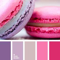 beige rosado, color campo de lavanda, color lavanda, color macarrón de guinda, color macarrón francés de guinda, color tulipa, color violeta claro, colores de las tulipas, colores de las tulipas rosadas, colores de los macarrones franceses, elección del color para el diseño, lila y violeta,