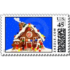 Thank you Kristin of Eagan, MN USA for getting the Christmas Gingerbread House Postcards! :)
