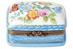 Lace and Floral Box