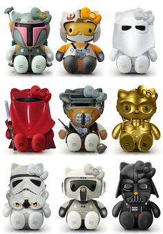 Star Wars Hello Kitty!!! Precious!!!