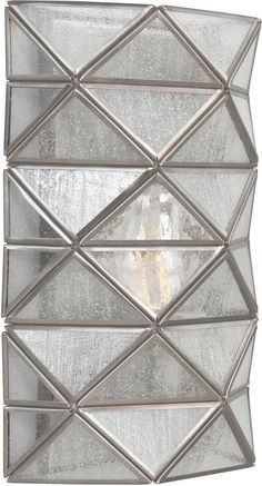 0-005750>Harambee 1-Light ADA Wall Sconce Antique Brushed Nickel