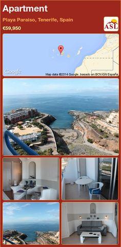 Apartment in Playa Paraiso, Tenerife, Spain ►€59,950 #PropertyForSaleInSpain