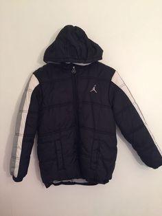 ea6f5818958d32 Air Jordan Winter Coat Puffer Jacket Boys Size Medium  fashion  clothing   shoes
