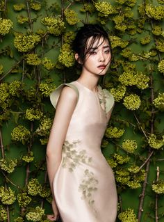 flowers fashion zhang jingna phuong my1 FGR Exclusive | Kwak Ji Young by Zhang Jingna in Flowers Bloom