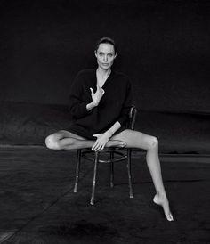 Анджелина Джоли в съемке The Wall Street Journal - BESTIN.UA