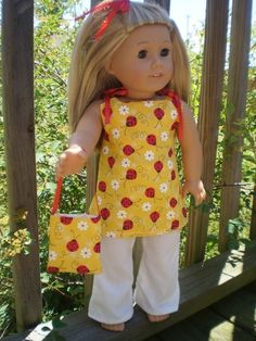 "18"" Doll Clothes American Girl...just getting inspired"
