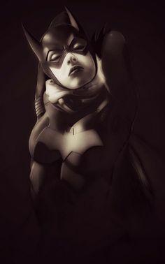 Bat Girl #comicgirl #comic #girl