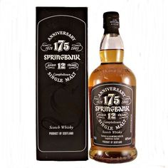 Springbank 175th Anniversary 12 year old 46% 70cl A Limited Edition of 12000 bottles.