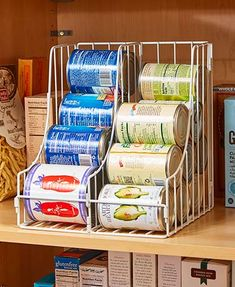 Double Pantry Can Organizers   $9.98