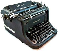 Our 1942 Underwood Master Typewriter SN#: M5657462-11 - invented by: Willie Dobson