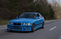 BMW E36 M3 blue