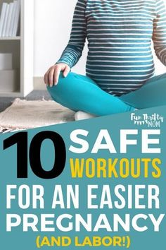 A list of Pregnancy Safe workouts. Perfect for soon to be new moms. These exercises help you have an easier pregnancy and labor. Plus, these work outs are safe to do from the first trimester to the third trimester! Happy Pregnancy, Pregnancy Advice, Pregnancy Health, First Pregnancy, Pregnancy Belly, Pregnancy Classes, Pregnancy Acne, Pregnancy Nausea, Pregnancy Announcements