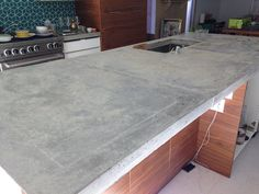 Exceptionnel After A Visit With My Old Friend, Mark Melonas, From Luke Works In Baltimore.  Diy Concrete CountertopsOld ...